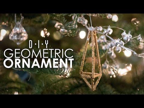 GEOMETRIC ORNAMENT - DIY Thriftmas Day 9