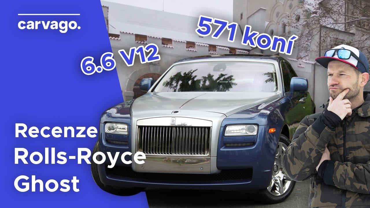 10 let starý Rolls-Royce Ghost - kolik stojí provoz a servis? Je opravdu bezporuchový?