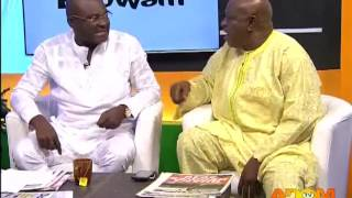 Hon. Kennedy Agyapong and Alhaji Bature trade insults - Badwam on Adom TV (20-12-15)