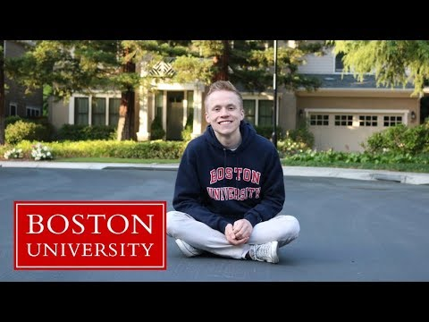 how i got into boston university, tips for applications, and why i chose bu! // jake brewer
