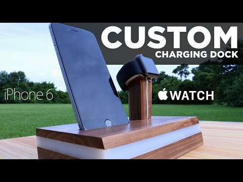 Mike Makes a CUSTOM Apple Watch Charging Stand