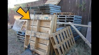 People Turn Pallets Into Cool Things But THIS, This Is Brilliant ..!!