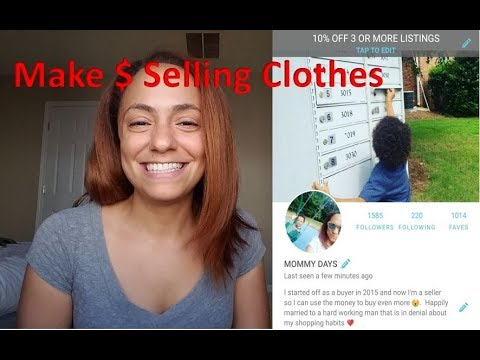 How to Sell Baby/Childrens' Clothes Online | Tips & Strategy | Make Money Work At Home