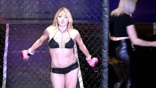 Sexy MMA Fighter Makes Lingerie Fighting Championships Debut