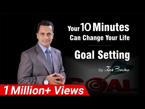 Goal Setting. By Vivek Bindra, Best Corporate Trainer Delhi NCR India