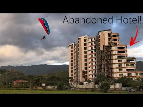 Ripping An Abandoned Hotel In Costa Rica!!! - ParaCosta Day 1 & 2