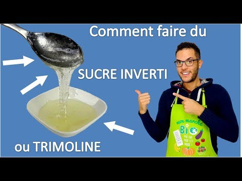 recette  SUCRE INVERTI ou TRIMOLINE / inverted sugar reciipe or trimoline recipe (EN subs)