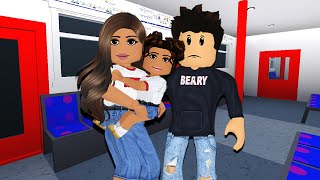 24 HOURS STUCK ON A TRAIN | Bloxburg Family
