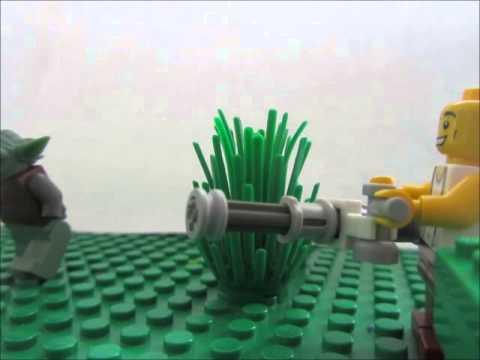 Lego Minigun Test