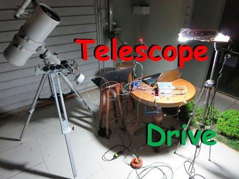 Home Made Telescope Drive