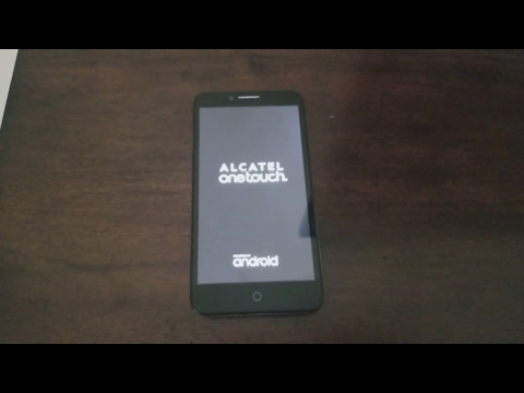 How to bypass Google Accout on Alcatel One touch and many more phones