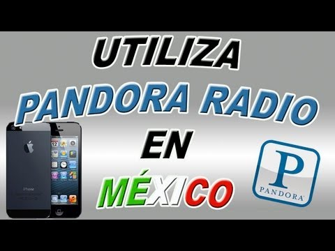 Utiliza Pandora Radio fuera de USA en tu iPhone, iPod Touch & iPad