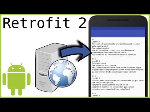 Retrofit Tutorial Part 1 - SIMPLE GET REQUEST - Android Studio Tutorial