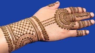 Mehndi Designs For Hands | Easy Jewelry Mehndi Designs for Hands #109 @ jaipurthepinkcity