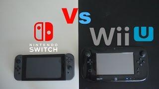 Nintendo Switch Vs Wii U - Review