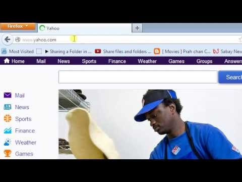 How to create new account Email  yahoo 2013
