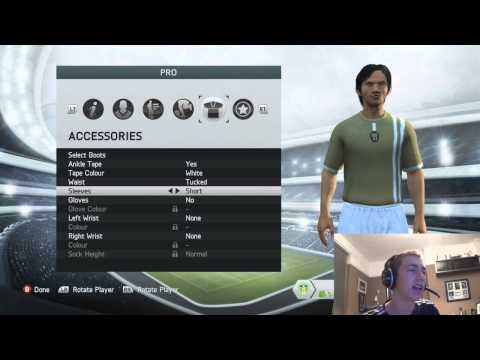 FIFA 14   Creating My Pro
