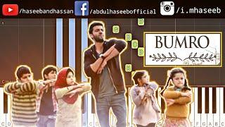 Notebook: BUMRO Song Piano Tutorial | Zaheer Iqbal & Pranutan Bahl | Kamaal Khan | Vishal Mishra