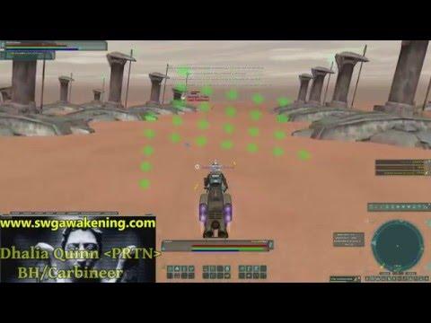 Star Wars Galaxies:Awakening - Jedi Hunt (Part 1)