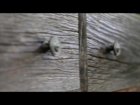Rustic Canadian Barnboard Furniture