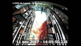 Las imágenes de las cámaras del Mercadona de As Lagoas