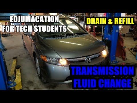 2006-2011 Honda Civic Transmission Fluid Change