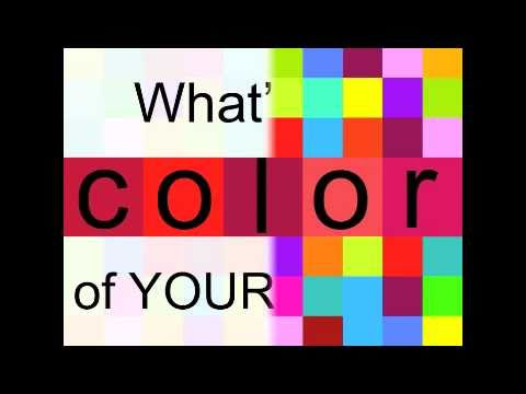 Personal Branding - Is Red the Color of Your Brand?