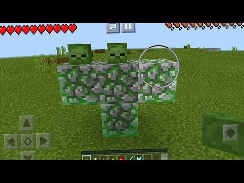 How to Spawn the GIANT Boss in Minecraft Pocket Edition (Boss Fight)