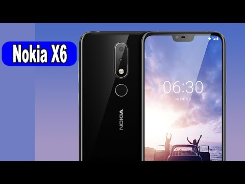 NOKIA X6 Android 8.0 4GB 32GB Snapdragon 636