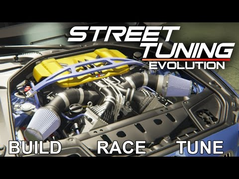 Street Tuning Evolution - Build, Tune, Race, Crash, Fix Your Car