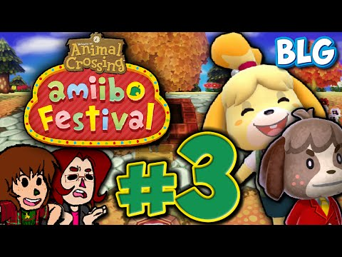 Let's Play Animal Crossing Amiibo Festival - Part 3 - Fishing Tourney!!