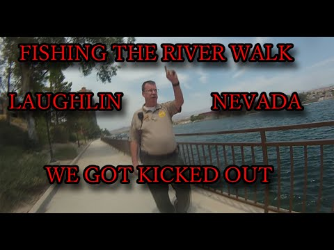 Fishing Lauhlin Nevada Casino's And Getting Kicked Out [ striped bass and trout}