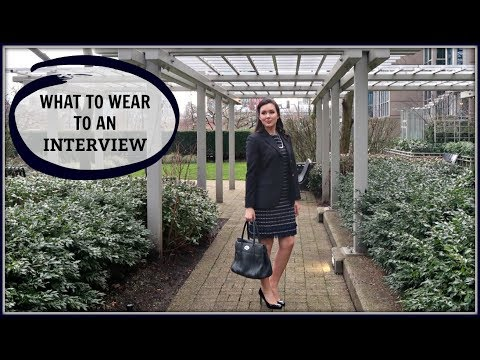 WHAT TO WEAR TO AN INTERVIEW | 3 BUSINESS FORMAL OUTFITS