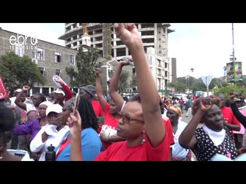 Angry Nairobians Demonstrate Against Graft