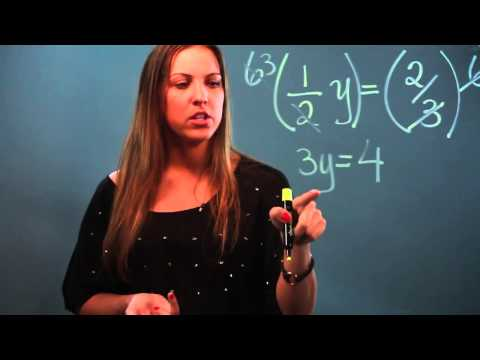 How to Solve One-Step Equations With Fractions on Both Sides of the Equals Sign