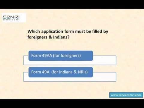 How a Foreigner Can Apply for New Pan Card online