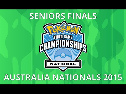 Seniors Finals - 2015 National Pokémon Championships [Australia]