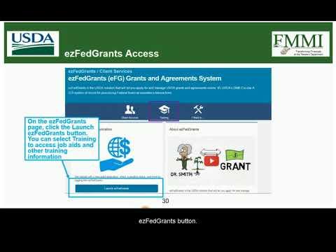 ezFedGrants Training: Grant Recipient Access