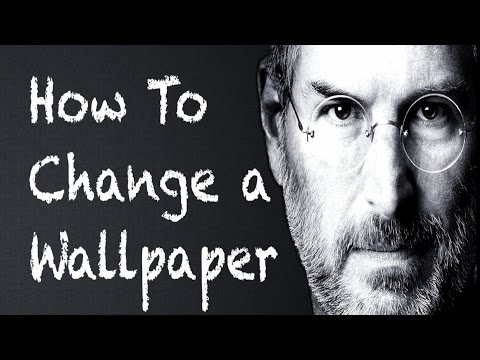 Mac Hacks - How To Change a Wallpaper