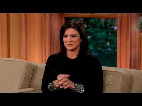 [HD] Gina Carano Craig Ferguson April 07,2014