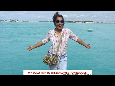 My Solo Trip To The Maldives On Budget