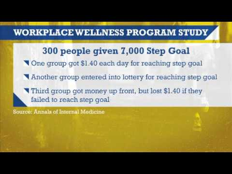 Video: Study shows the way to get your employees to work out more is to pay them for it