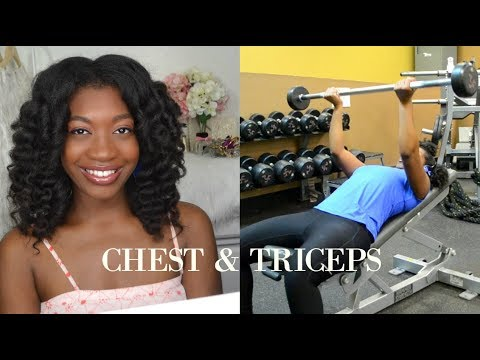 SELF CARE: CHEST AND TRICEPS DAY | EASY WORKOUTS FOR WOMEN | GETTING SPRING FIT 2018 | EPISODE 2