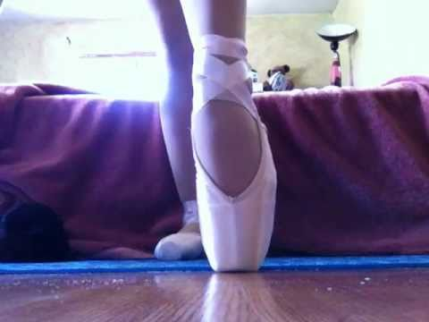 My first pointe shoes!