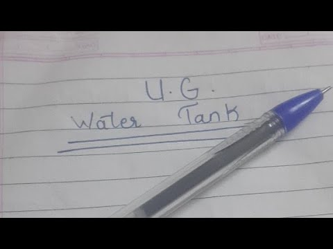 how to calculate water in a tank in litres