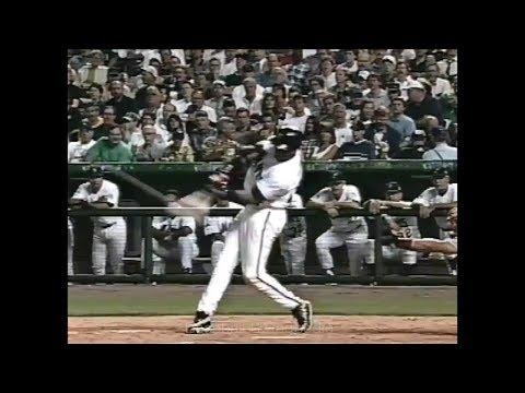Barry Bonds Home Run Swing Slow Motion 1998-1(#ASG)