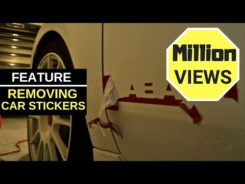How to remove sticker glue from car paint