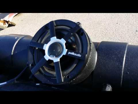 3 speaker atv audio tube first test