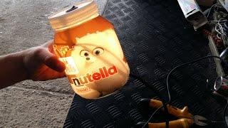 Lampada Barattolo Nutella Concorso : Il biscotto a forma di dito per mangiare meglio la nutella