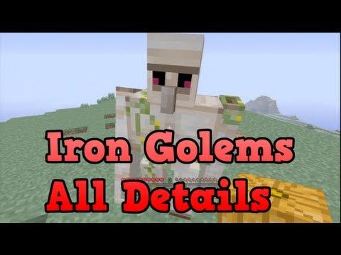 Minecraft Xbox 360 - Iron Golem Tutorial (Crafting and Uses) TU12